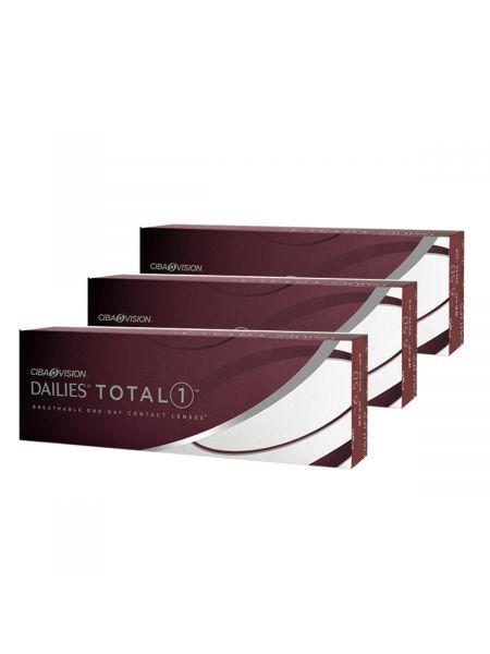 Контактные линзы Dailies Total 1 90 линз