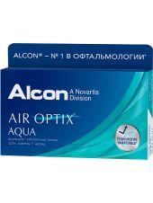 Контактные линзы Air Optix Aqua (3 линзы)