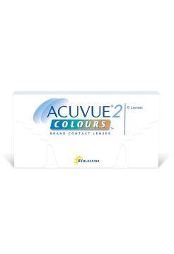 Контактные линзы Acuvue 2 Colors Enhancers Оттеночные линзы дневного ношения, 6 линз (3 пары)