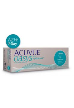 Акция Контактные линзы ACUVUE OASYS 1-Day with HydraLuxe™ 30 линз