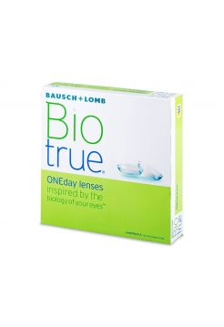 Контактные линзы Biotrue ONE day 90 линз