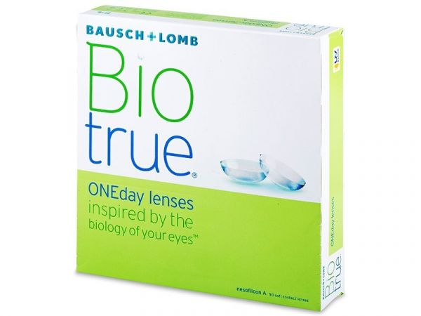 Контактные линзы Biotrue ONE day 90 линз (45 пар)