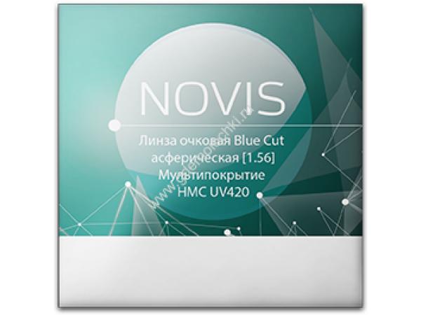 1.56 ASP Blue Cut [UV420] Полимерные асферические компьютерные очковые линзы
