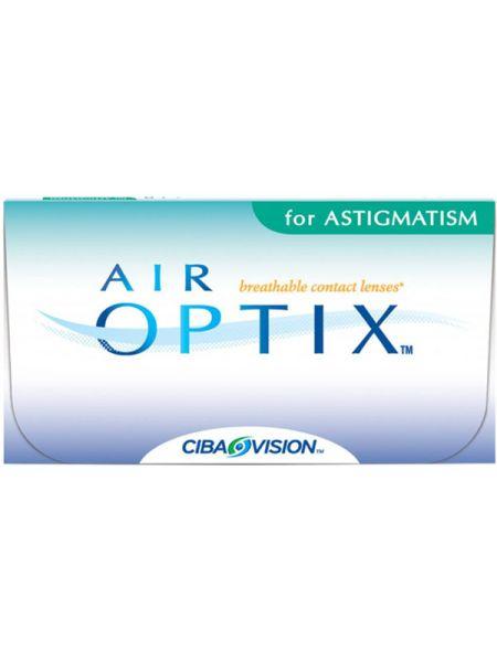 Акция. Торические линзы Air Optix for Astigmatism 3 линзы