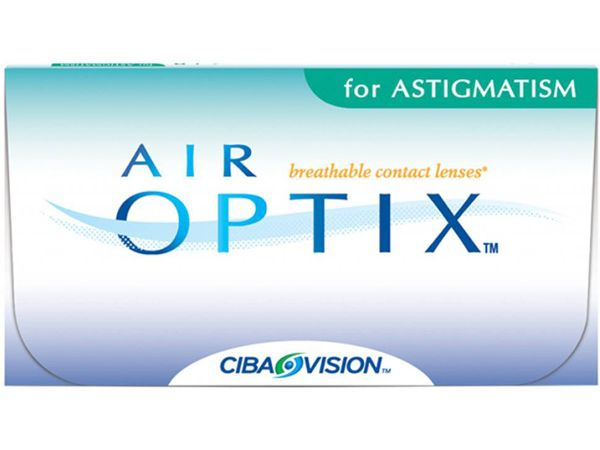 Торические линзы Air Optix for Astigmatism (3 линзы)