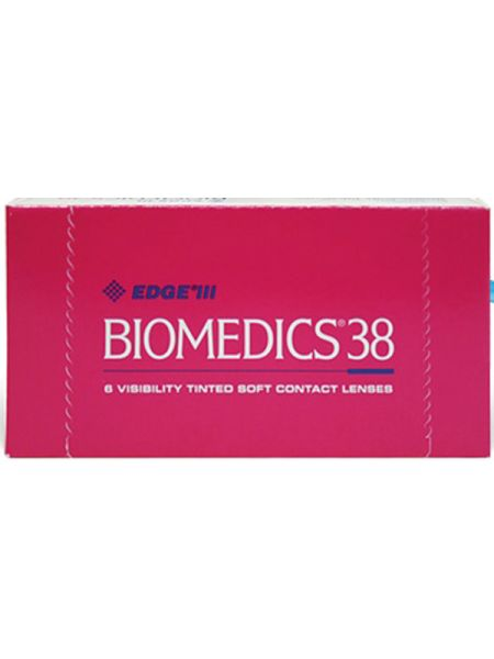 (МЯТАЯ УПАКОВКА) Контактные линзы Biomedics 38 6 линз (ОПТИЧЕСКАЯ СИЛА 8,6 -2.75)