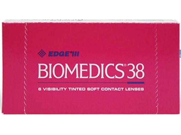 Контактные линзы Biomedics 38 6 линз (3 пары)
