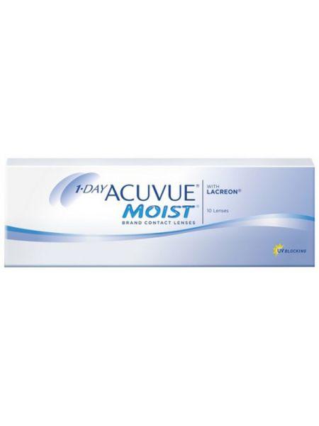 Контактные линзы 1-Day Acuvue Moist (10 линз)