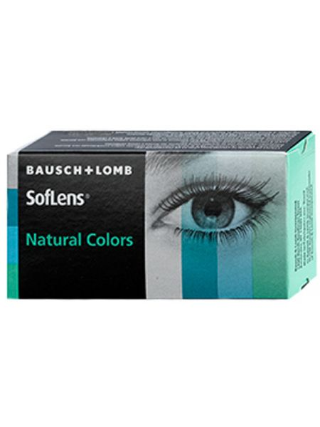 Акция Цветные линзы SofLens Natural Colors 2 линзы