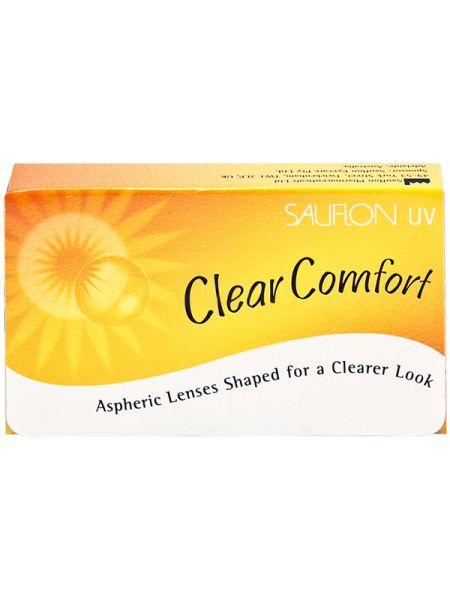 Контактные линзы Clear Comfort 6 линз (3 пары)