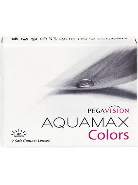 Цветные линзы Aquamax Colors 2 линзы (1 пара)
