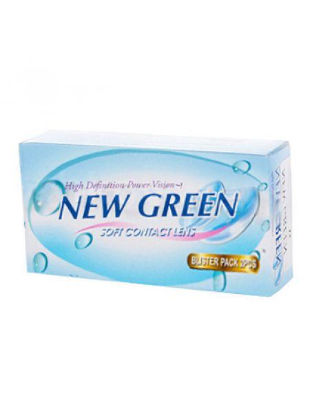 Контактные линзы New Green 2 линзы (1 пара)
