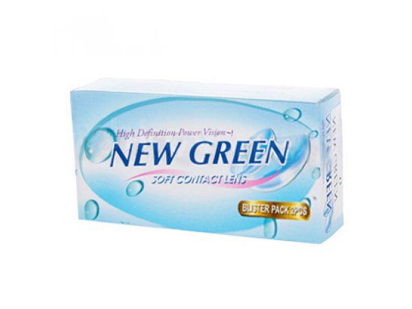 Контактные линзы New Green (2 линзы)