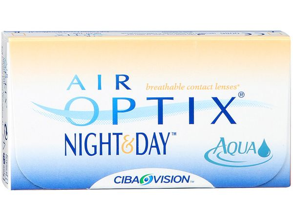Контактные линзы Air Optix Night & Day Aqua (1 линза)