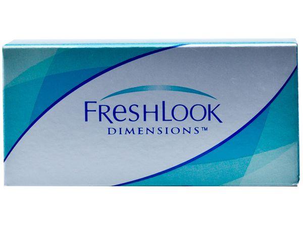 Оттеночные линзы FreshLook Dimensions 6 линз (3 пары)