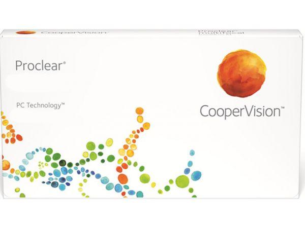 Контактные линзы Proclear (CooperVision) 6 линз (3 пары)