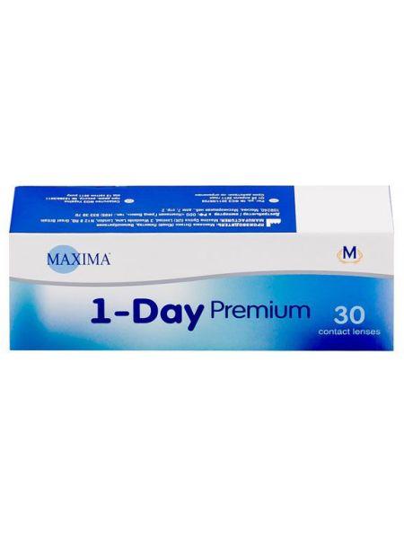 Контактные линзы Maxima 1-Day Premium 30 линз (15 пар)