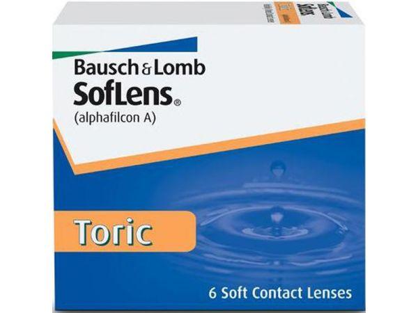 Торические линзы SofLens ™ 66 Toric 6 линз (3 пары)