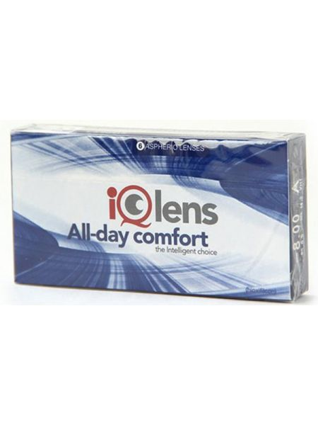 Контактные линзы IQLens All-day comfort (6 линз)