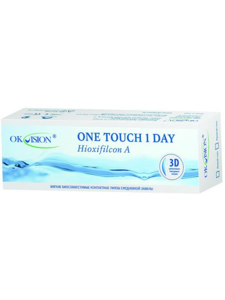 Контактные линзы One Touch 1 Day (30 линз)