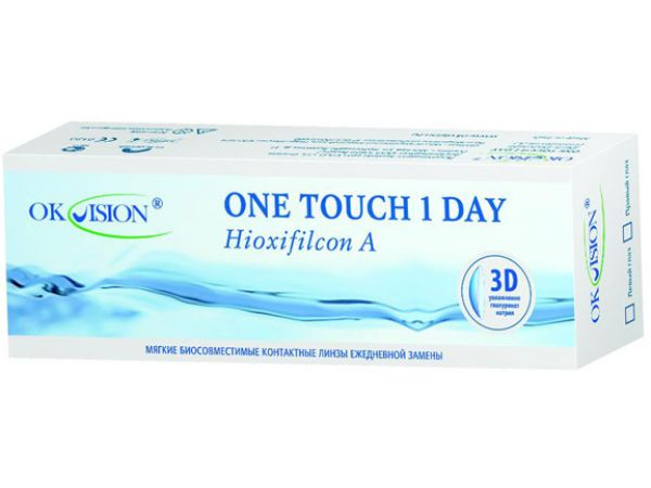 Контактные линзы One Touch 1 Day (30 линз)