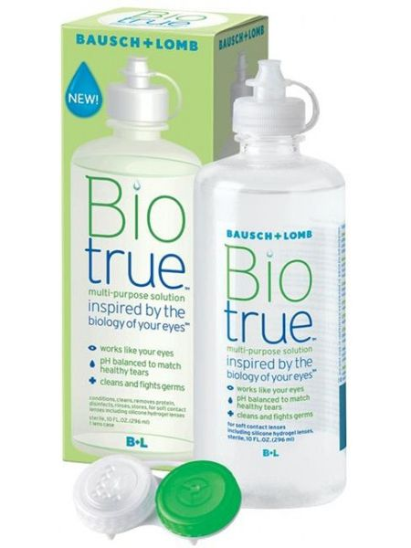 Раствор Biotrue 300 мл+контейнер