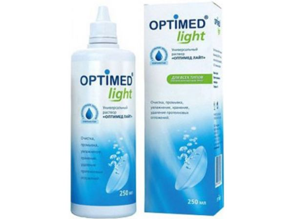 Раствор Optimed Light 250 ml