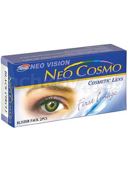 Контактные линзы Neo Cosmo Crazy кошачий глаз 2 шт.