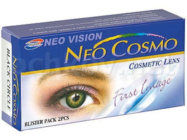 Контактные линзы Neo Cosmo Crazy кошачий глаз (2 линзы)