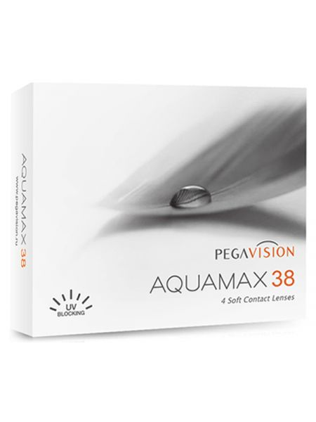 Контактные линзы AquaMax 38 (4 линзы)