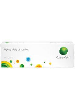 Контактные линзы MyDay daily disposable 30 линз (15 пар)