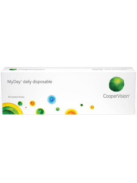 Контактные линзы MyDay Daily Disposable 30 шт.
