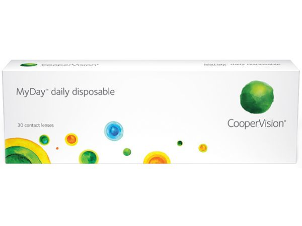 Контактные линзы MyDay daily disposable 30 линз (15 пар)