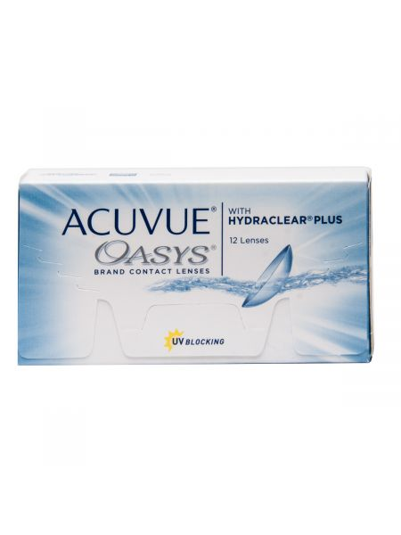 контактные линзы Acuvue Oasys with Hydraclear Plus 12 линз