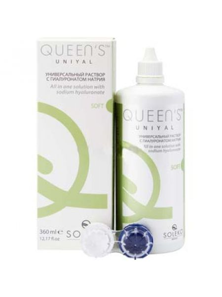 Раствор Soleko S.P.A Queen's UniYal 360 ml