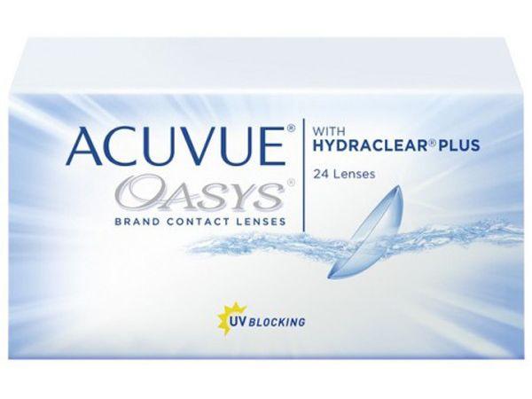 Контактные линзы Acuvue Oasys with Hydraclear Plus 24 линзы