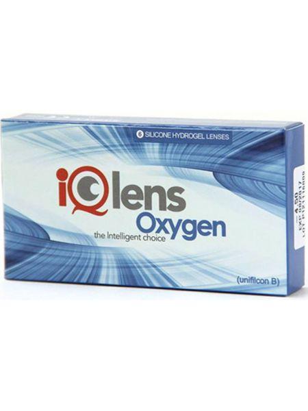 Контактные линзы IQlens Oxygen (6 линз)