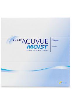 Контактные линзы 1-Day Acuvue Moist 90 линз (45 пар)