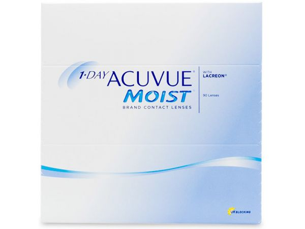 Контактные линзы 1-Day Acuvue Moist 90 линз