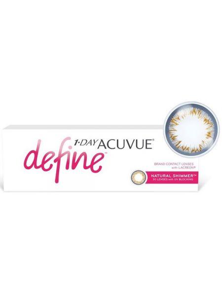 Контактные линзы 1-Day Acuvue Define Естественное сияние (Natural Shimmer) 30 линз