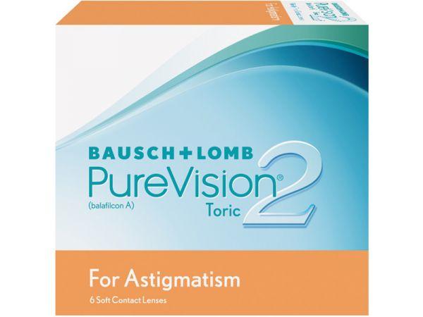 Торические линзы PureVision 2 HD for Astigmatism 6 линз (3 пары)