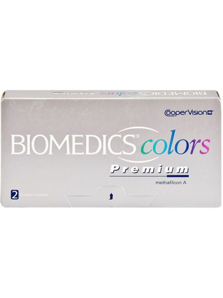 Цветные линзы Biomedics Colors Premium (2 линзы)