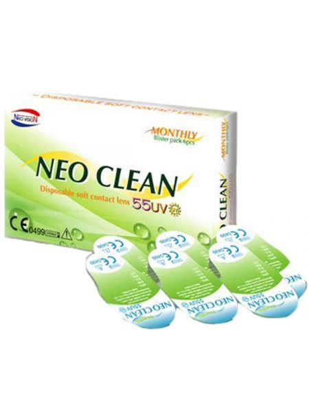 Контактные линзы Neo Clean 6 шт.