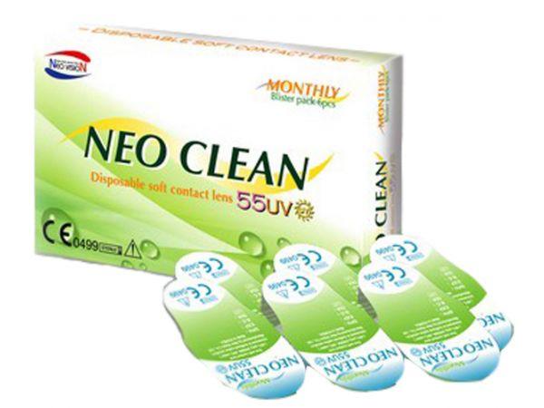 Контактные линзы Neo Clean 6 линз (3 пары)