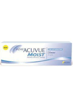 Торические линзы 1-Day Acuvue Moist for Astigmatism 30 линз (15 пар)
