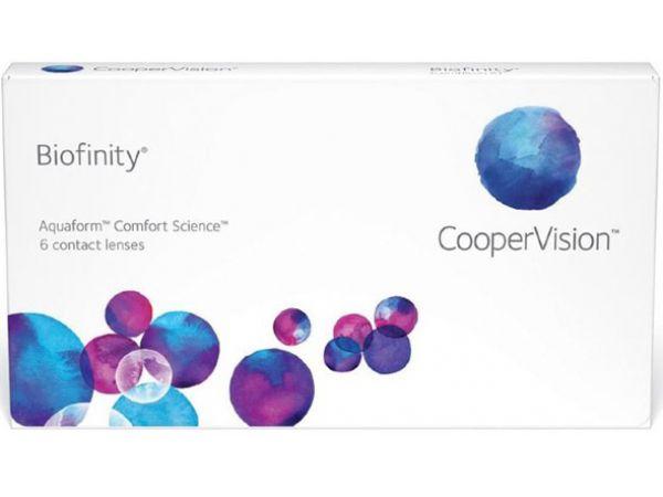 Контактные линзы Biofinity 6 линз (3 пары)