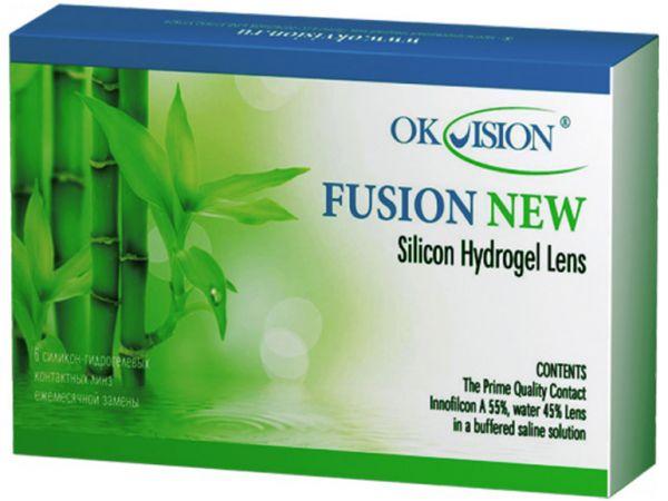 Контактные линзы Fusion NEW (6 линз)