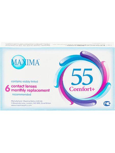 Контактные линзы Maxima 55 Comfort Plus (6 линз)