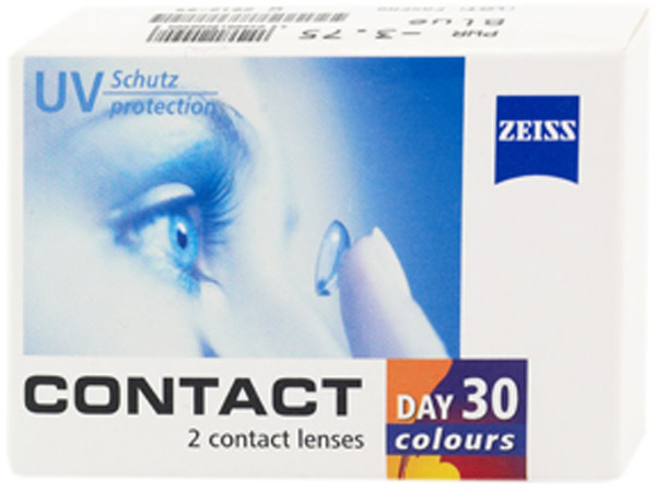 Цветные линзы Contact day 30 colors Fantasy (2 линзы)