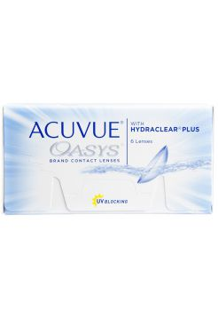 Контактные линзы Acuvue Oasys with Hydraclear Plus 6 линз (3 пары)